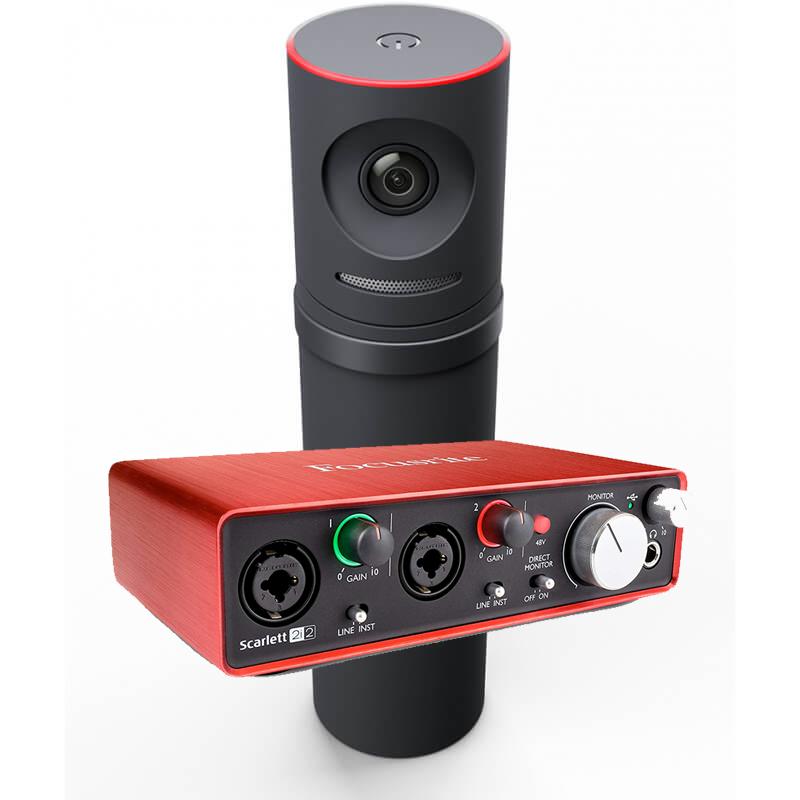 Mevo Bundle - Camera, Boost and Focusright 2i2 Audio Interface Image