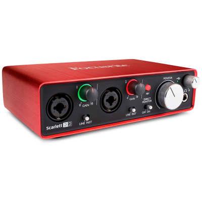 Focusrite 2i2 Audio Interface Image