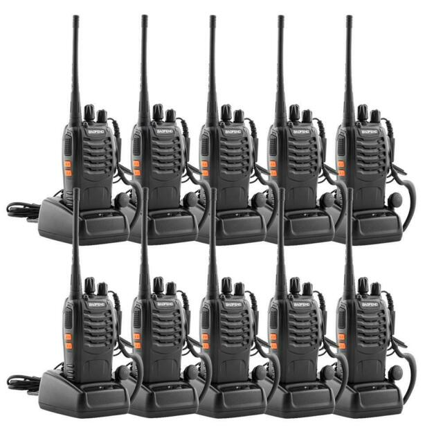 Baofeng BF-888S Walkie Talkie UHF Two-Way x20 Image